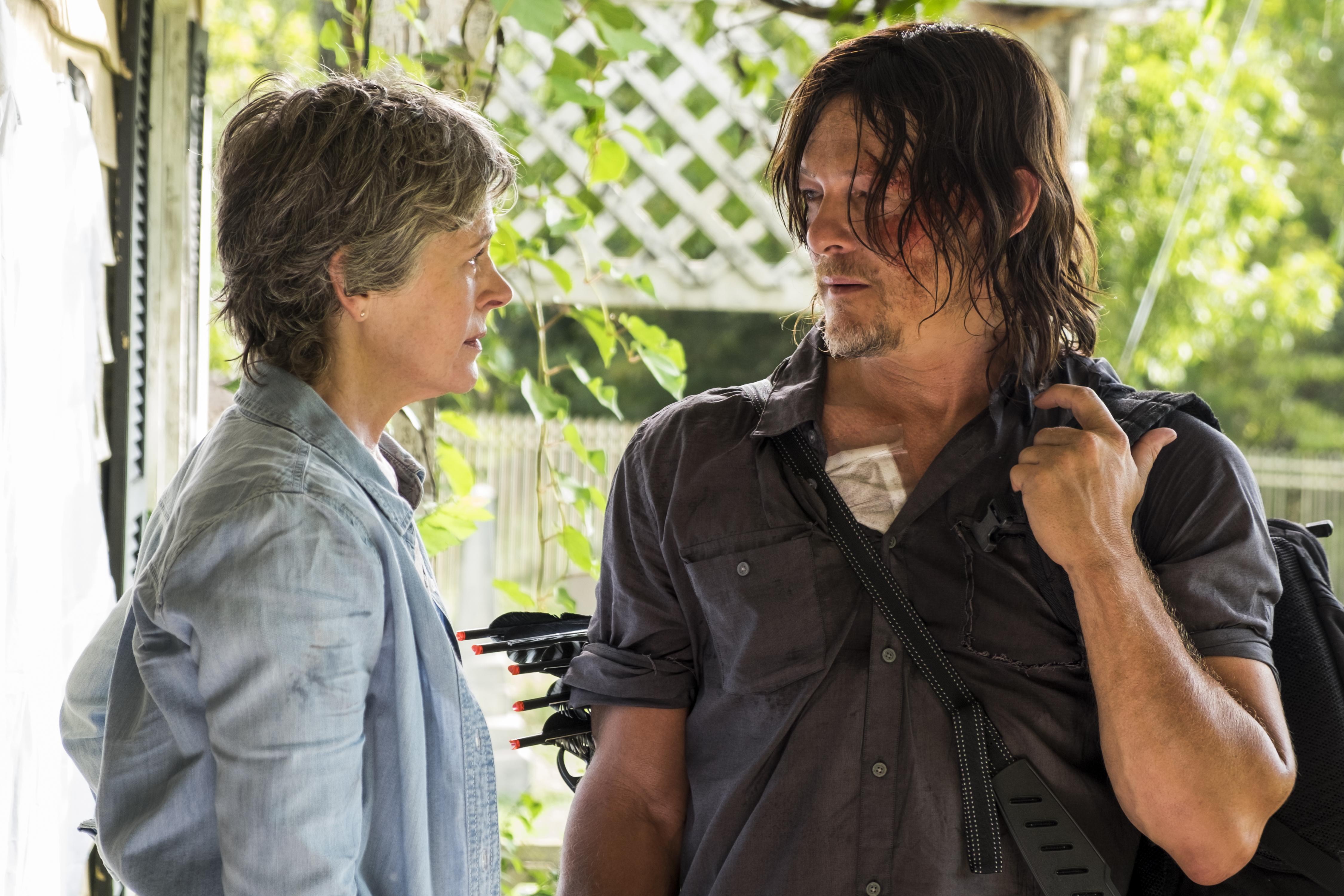 The Walking Dead Review New Best Friends Season 7 Episode 10 Tell Tale Tv
