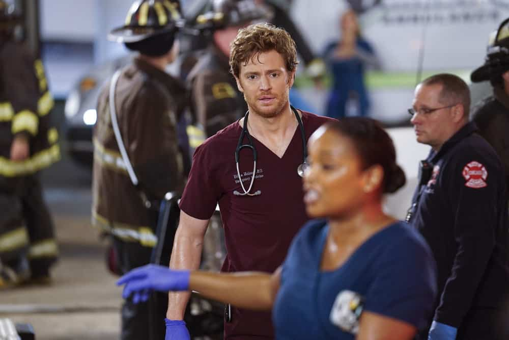 Chicago Med Season 4 Episode 7 - Nick Gehlfuss as Dr  Will Halstead