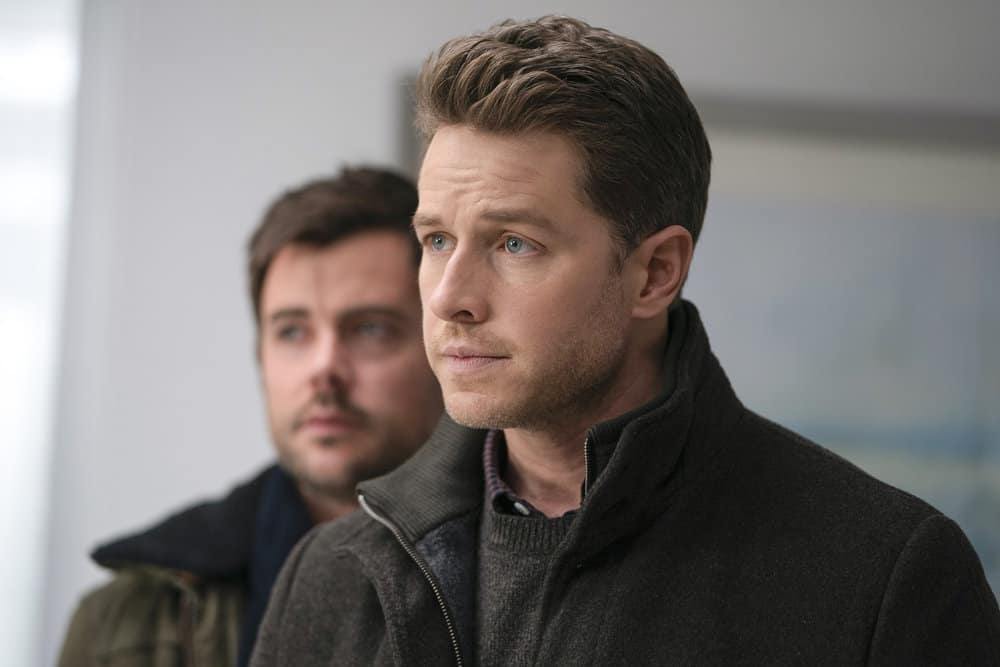 Manifest Season 1 Episode 15  Matt Long as Zeke, Josh Dallas as Ben Stone    Tell-Tale TV