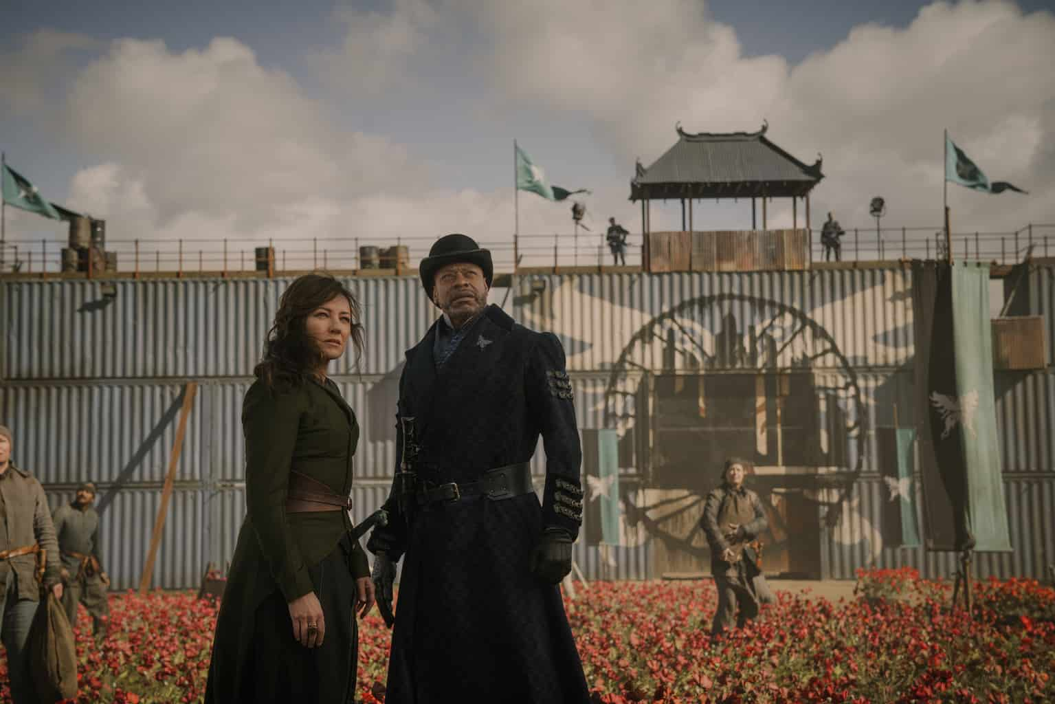 Into The Badlands Review Curse Of The Red Rain Season 3 Episode 14 Tell Tale Tv
