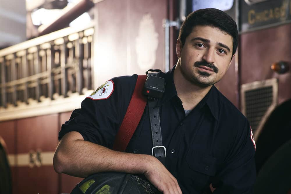 Yuriy Sardarov Opens Up About That Devastating 'Chicago Fire' Season 8 Premiere and Why it Was 'Necessary' [Exclusive Interview]