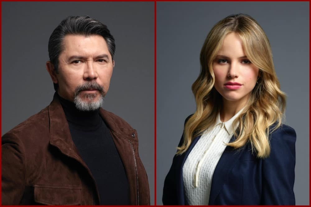 Prodigal Son: Lou Diamond Phillips and Halston Sage on ...