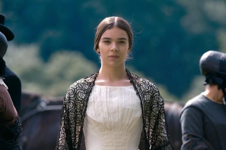 """Dickinson Season 1 Episode 1 Hailee Steinfeld stars in """"Dickinson,"""" premiering November 1 on Apple TV+."""