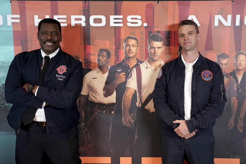 Chicago Fire's Eamonn Walker and Jesse Spencer on the Newest Member of Firehouse 51 and the Possibility of a Casey and Brett Romance [Video]