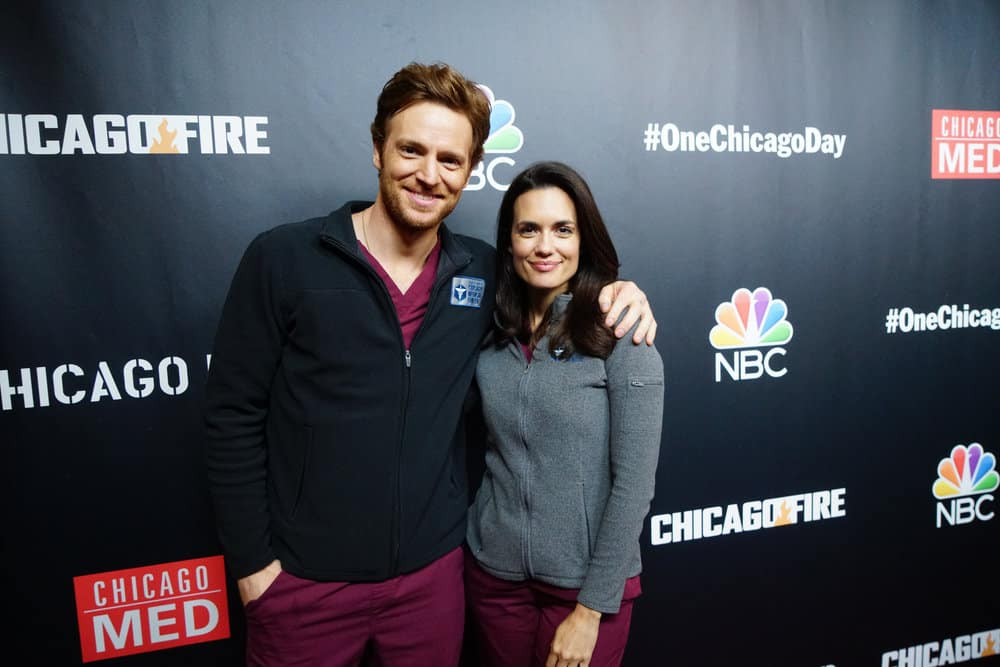 Chicago Med: Torrey DeVitto and Nick Gehlfuss on Natalie's Injury and the Upcoming Crossover [Video]