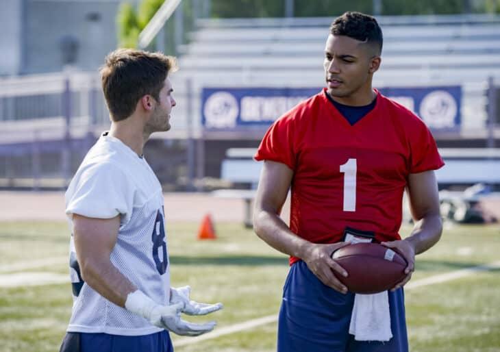 All American Season 2 Episode 10 - Cody Christian as Asher and Michael Evans Behling as Jordan